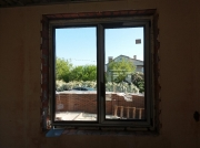 Фото пластиковое окно Rehau Synego вид изнутри