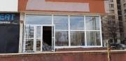 """Остекления фасада """"Укртелекома"""" пластиковыми окна"""