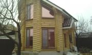 Окна WDS в с.Каневском в деревянном срубе