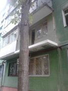 балкон Карла Маркса Днепропетровск-2