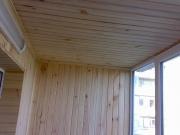 Балкон под ключ Одесса. Внутренняя обшивка деревянной вагонкой