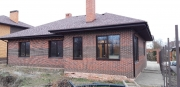 Остекление нового частного дома окнами Rehau Synego